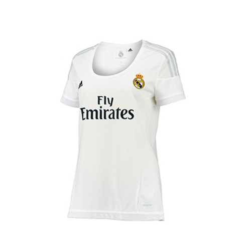 7589301df Customized) Female Real Madrid Authentic Home Jersey 2015 16 ...