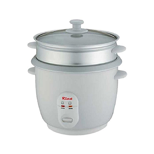 Electric Rice Steamer ~ Rico electric rice cooker vegetable steamer ltrs