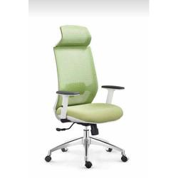 DELUXE EXECUTIVE  OFFICE MESH CHAIR WITH HEAD REST |DEL 235|BLACK|GREEN|WHITE