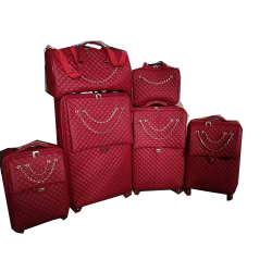 LUXURY 6 PIECE COMPLETE SET TRAVELLING LUGGAGE