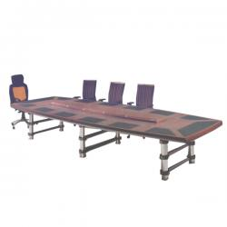 14-Man Executive Conference Table (Metal Legs)