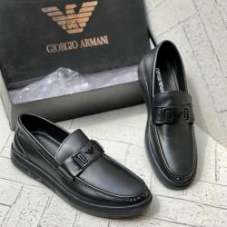 GIORGIO ARMANI HIGH QUALITY LUXURY MEN'S SHOE (AVAILAIBLE IN ALL SIZES) 294