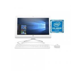 HP All in One - 20 -C402NH, 4MN62EA , Intel Celeron J4005, Desktop 20 Inch, 4 GB RAM, 500 Hard Drive,Free DOS 2.0 (DW)
