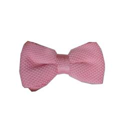 LUXURY POLKA DOT BOW TIE - PINK