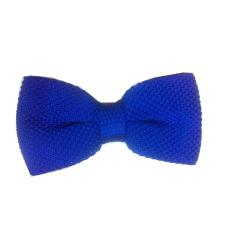 LUXURY POLKA DOT BOW TIE - BLUE