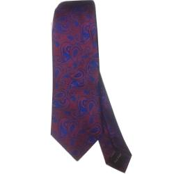 LUXURY CORPORATE NECK TIE WITH BLUE DESIGN