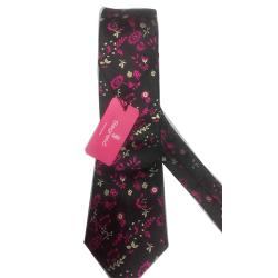 LUXURY MULTI COLOUR FLORAL NECK TIE