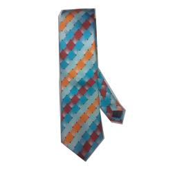 LUXURY MULTI COLOUR PATTERNED NECK TIE