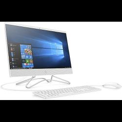 "HP All-in-One PC - 23.8"" FHD Display, Intel Celeron G4900T, 1TB HDD, 4GB RAM, Windows 10, Snow White  - deluxe.com.ng"