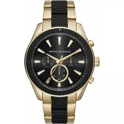 ARMANI EXCHANGE AX1814 MEN'S CHRONOGRAPH TWO-TONE BRACELET WATCH