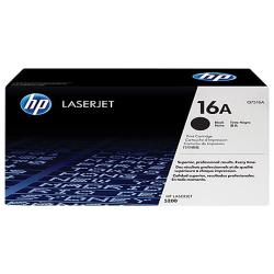 HP 16A Black Original LaserJet Toner Cartridge (Q7516A)