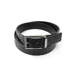 Reversible Crocodile Skin belt  ₦4,500