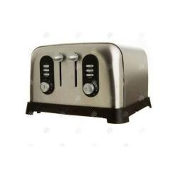 Sainsbury'S Stainless Steel 4 Slice Pop Up Toaster