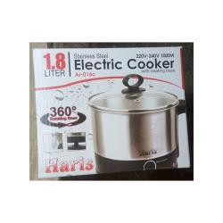 Haris 1.8L Mini Stainless Steel Electric Cooking Pot Rapid Noodles Cooker (220V -240V 1000W)