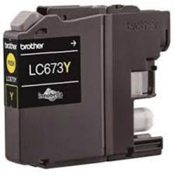 Brother Ink Cartridge Yellow Lc673y