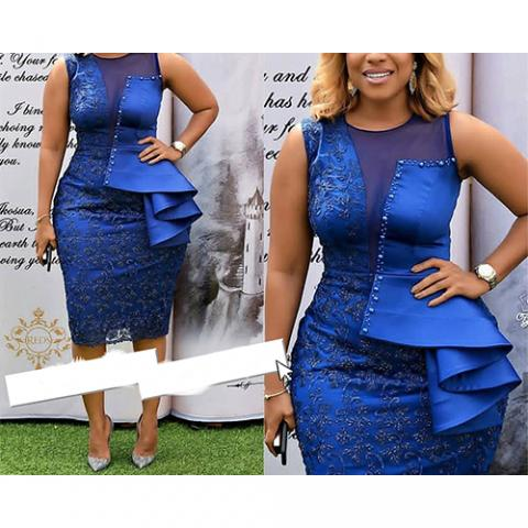 GORGEOUS BLUE GOWN FOR WOMEN (AVAILABLE IN ALL SIZES)
