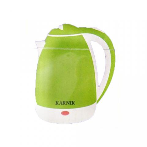 Karnik 2.2L Stainless Electric Kettle - GREEN
