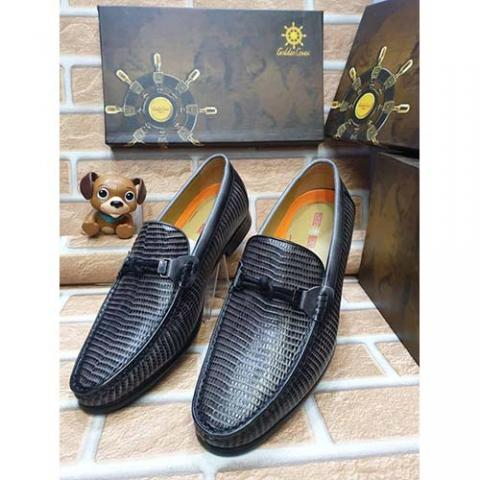 DELUXE HIGH QUALITY LUXURY MEN'S SHOE (AVAILAIBLE IN ALL SIZES) 367