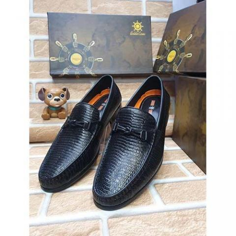 DELUXE HIGH QUALITY LUXURY MEN'S SHOE (AVAILAIBLE IN ALL SIZES) 368