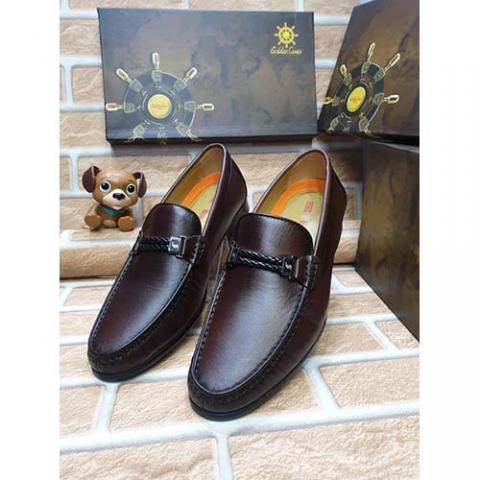 DELUXE HIGH QUALITY LUXURY MEN'S SHOE (AVAILAIBLE IN ALL SIZES) 376