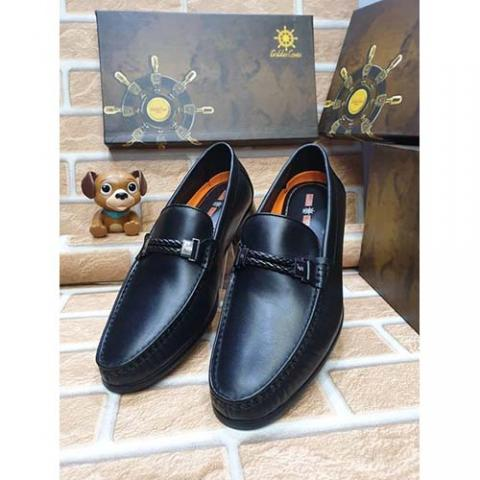 DELUXE HIGH QUALITY LUXURY MEN'S SHOE (AVAILAIBLE IN ALL SIZES) 377