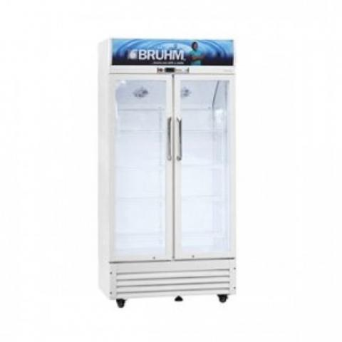 BRUHM 409Litres Double Door Beverage Cooler, BBD-409M | BFV-409SD