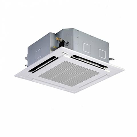 HISENSE 5HP CEILING CASSETTE AIR CONDITIONER|R410GAS|47,597Btu|Wireless Remote|White