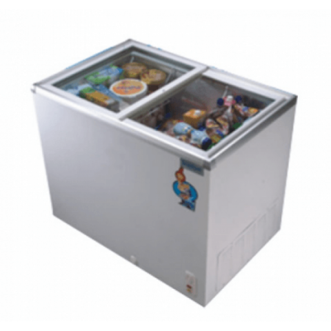 Scanfrost SFCH300 Glass Top Display Freezer | APSCFZCBU06