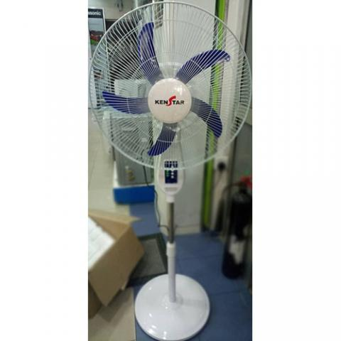 KENSTAR 18 INCH RECHARGEABLE STANDING FAN WITH TIMER