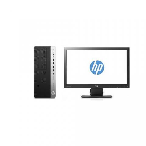 Hp EliteDesk 800 G3 Tower PC +18.5 MONITOR Intel Core I5, 4GB RAM, 1TB  - deluxe.com.ng