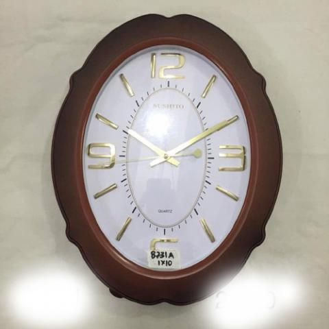 sushito Round Simple Design Wall Clock - deluxe.com.ng