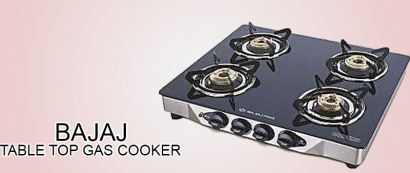 Bajaj table top gas cooker