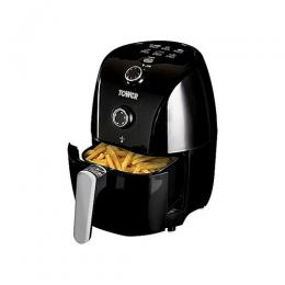 Tower Air Fryer 1.5 Litre, Black