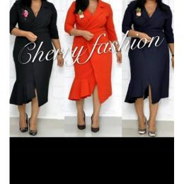 LADIES EXTRAVAGANT FITTED CORPORATE GOWN|7 (AVAILABLE IN ALL SIZES)