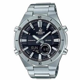 CASIO GENT'S ERA-110D-1AVDF ANALOG-DIGITAL STAINLESS STEEL WATCH