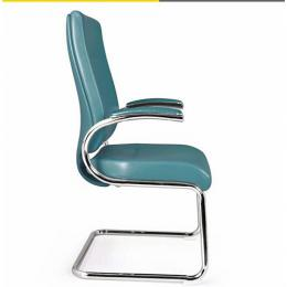 DELUXE OFFICE VISITOR'S CHAIR|BLUE