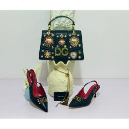 D&G DESIGNER WOMEN'S HAND BAG AND SHOE