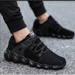 FASHION MEN'S CLASSIC SNEAKERS|BLACK