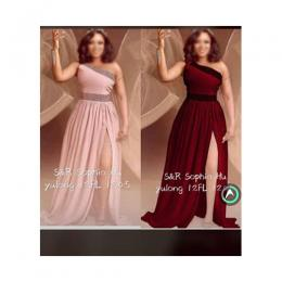 LADIES MAGNIFICENT LONG GOWNS (AVAILABLE IN ALL SIZES)