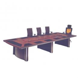 14-Man Executive Conference Table (Wooden Legs)