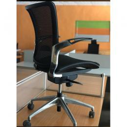 DELUXE LEATHER OFFICE CHAIR|BLACK