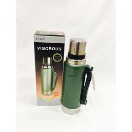 Haers Stainless Steel Vacuum Flask- 1600ml- Green