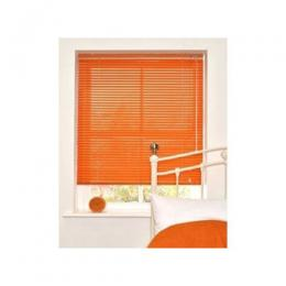 Aluminium Venetian Window Blinds - Orange 076 large (W=7ft * L=5ft)medium (W=5ft * L=5ft)mini (W=3ft * L=4ft)