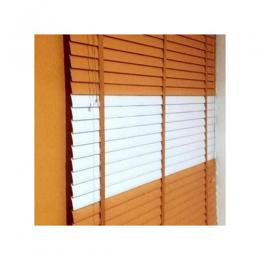 Wooden Window Blinds - EAGLE EYE AND WHITE 082 large (W=7ft * L=5ft) medium (W=5ft * L=5ft)