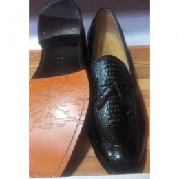JOHN FOSTER CLASSIC PATTERNED MEN'S SHOE|013|(AVAILABLE IN ALL SIZES)