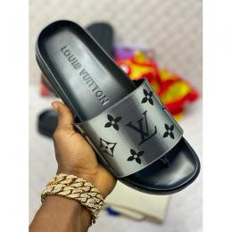 LOUIS VUITTON DESIGNER MEN'S FOOTWEAR|BLACK (AVAILABLE IN ALL SIZES) 111