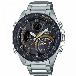 CASIO ECB-900DB-1CDR MEN'S EDIFICE ANALOG-DIGITAL BRACELET WATCH