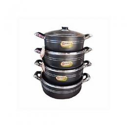 Ultimate Ash 4 Set Non Stick Pots -26,28,30,32CM