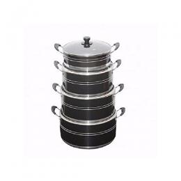 Generic Ultimate 4 Set Non Stick Pots -16,18,20,22CM