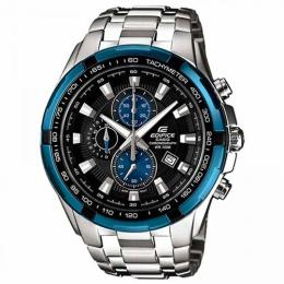 CASIO EF-539D-1A2VUDF MEN'S EDIFICE CHRONO STAINLESS STEEL BRACELET WATCH